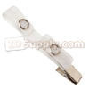 Premium Cloth-Reinforced Dual ID Badge Clips