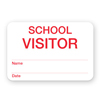 Manual School Visitor Badge