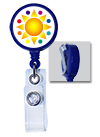 Standard Badge Reel w/ Custom Logo
