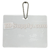 HSC80-H Horizontal Badge Holder w/ Chain