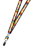 "3/4"" Full Color Print Lanyard (Dual Sided)"