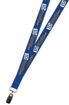 "3/4"" Two Color Printed Lanyard (Dual Sided)"