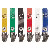 Color Vinyl ID Badge Clips