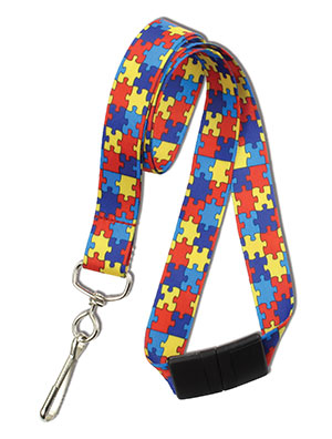 Autism Awareness Lanyard (2138-5282)