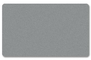 Silver Colored PVC Cards