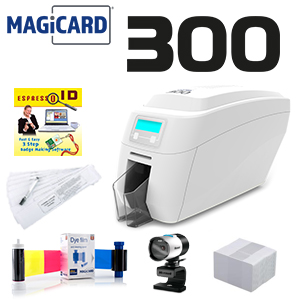Magicard 300 Single Sided Printer System