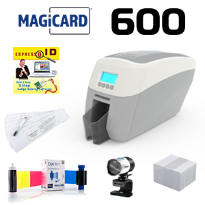 Magicard 600 Single Sided Printer System