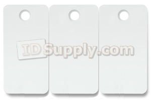 3-up Key Tags with Holes