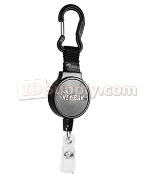 #6CID Mid-Size Reel with Carabineer & ID Strap Attachment